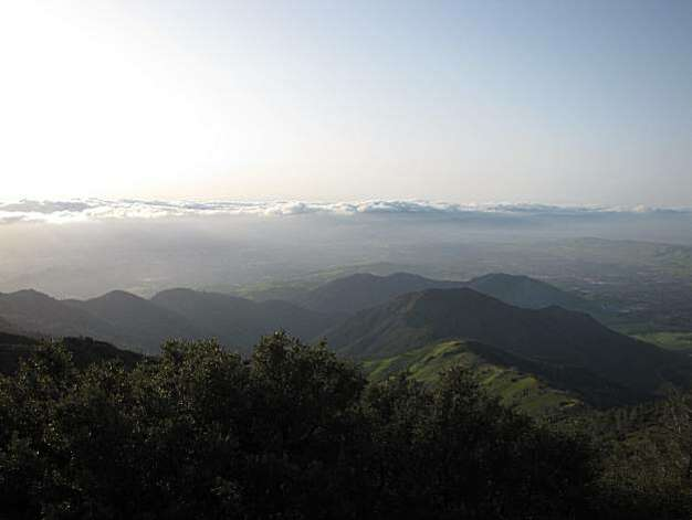 Site: North Gate, Sout Gate and Summit Roads, Mount Diablo State Park. Location: Mt. Diablo summit Photo: Stephanie Wright Hession