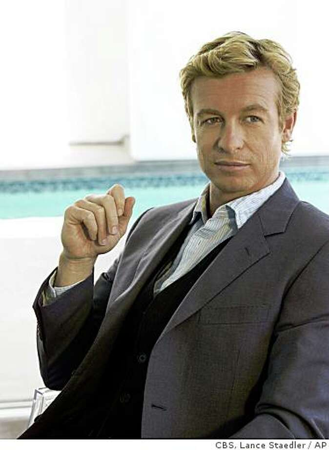 "Simon Baker stars as Patrick Jane in ""The Mentalist,"" premiering Tuesday, Sept 23, 2008, at 9:00 p.m. EDT on CBS Photo: CBS, Lance Staedler, AP"