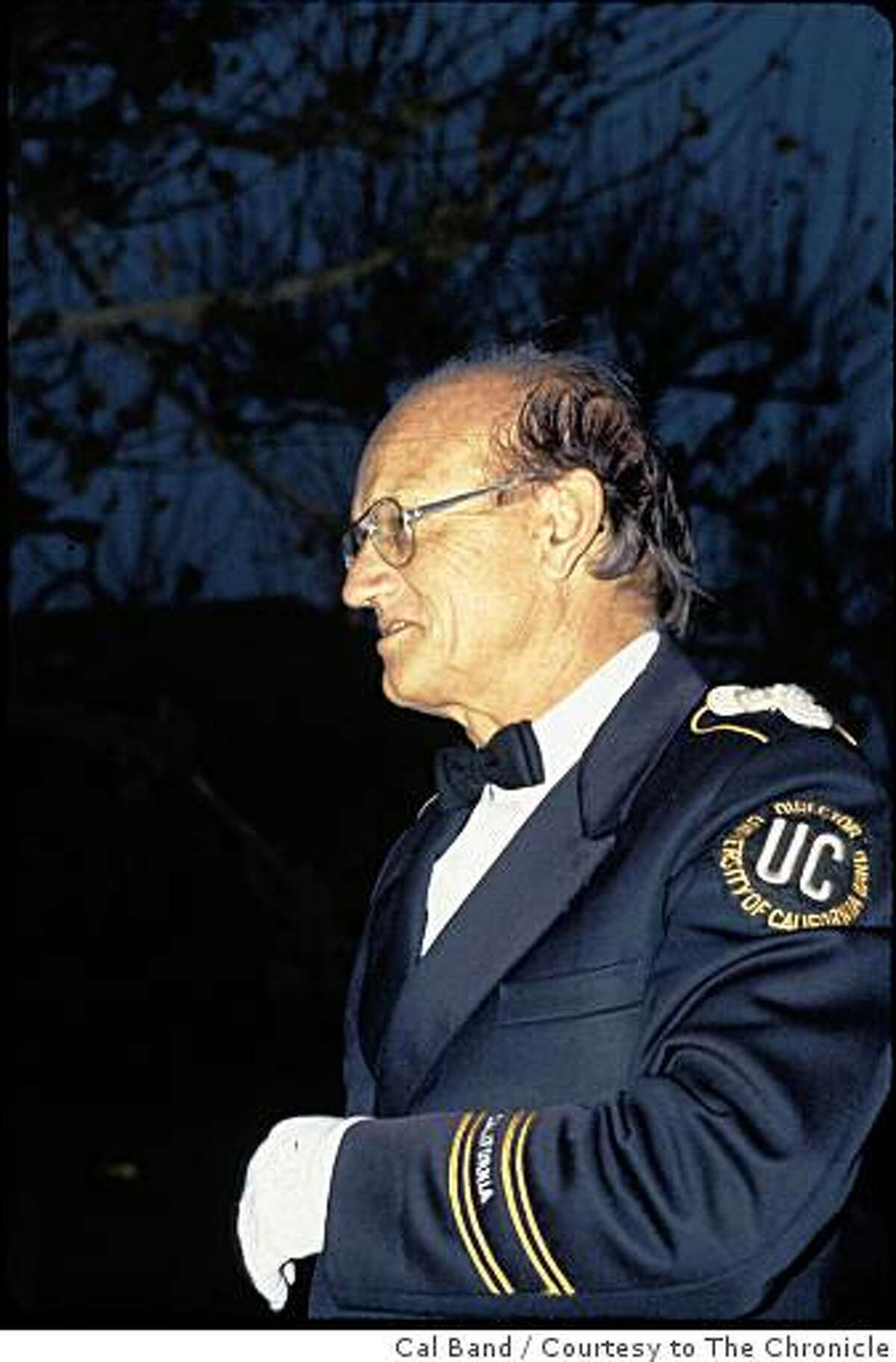 Robert Briggs, who was the director of the University of California Marching Band for 24 years and a beloved member of the Cal Band family for much of his life, died Sept. 17, 2008 from complications following surgery. He was 81.