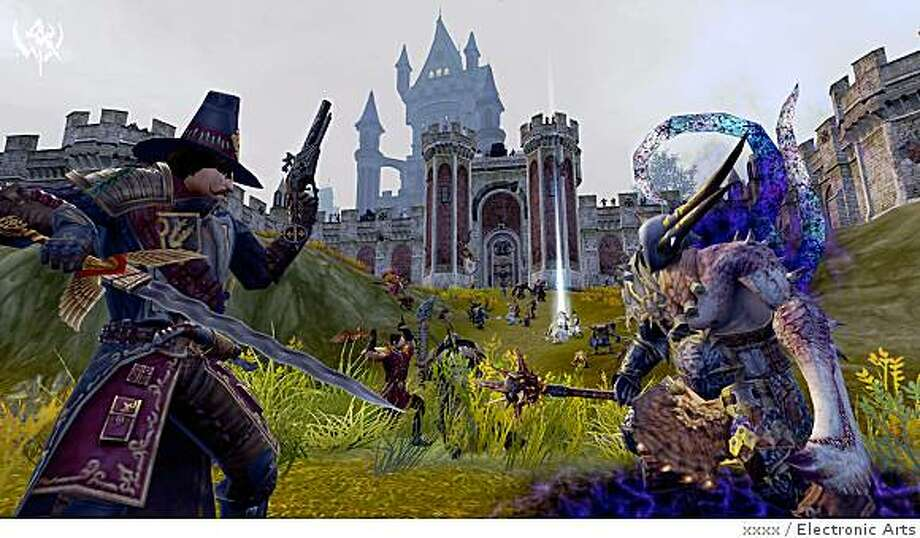 Electronic Arts releases Warhammer Online: Age of Reckoning today in a bid to challenge the dominance of Activision Blizzard's World of Warcraft Photo: Xxxx, Electronic Arts