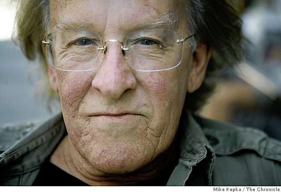 Paul Kantner, of Jefferson Airplane/Starship poses for a portrait at Cafe Trieste, a favorite hangout him, on Friday Sept. 5, 2008 in San Francisco, Calif.  Kantner has a new folk album soon to be released. Photo: Mike Kepka, The Chronicle
