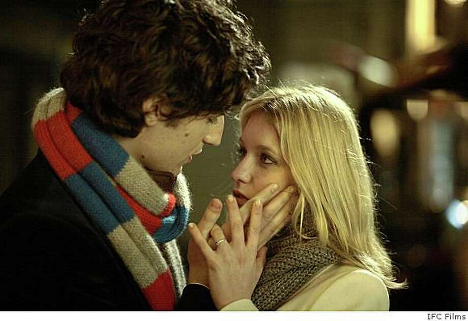 "Louis Garrel as Isma�l and Ludivine Sagnier as Julie in Christophe Honor�'s romantic French musical, ""Love Songs,"" opening Friday, June 6, at Landmark�s Lumiere Theatre in San Francisco and Landmark�s Shattuck Cinemas in Berkeley. Photo: IFC Films"