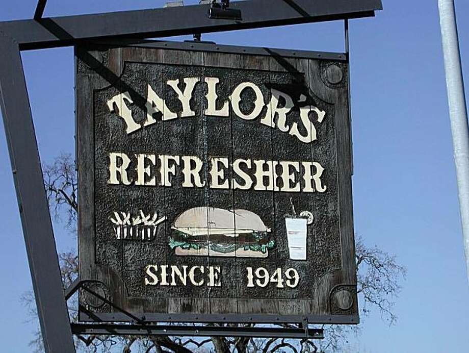 NBTAYLOR09-c-30APR03-NF-HO    . Caption info: Taylor's Refresher has been a fixture in St. Helena for 54 years. Photo: Handout, The Chronicle