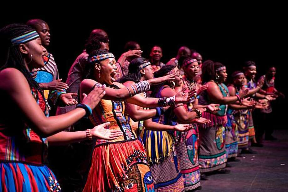 The Soweto Gospel Choir is marking its 20th anniversary with a performance at the Parmount Theatre in Oakland Photo: Oliver Neubert, Soweto Gospel Choir