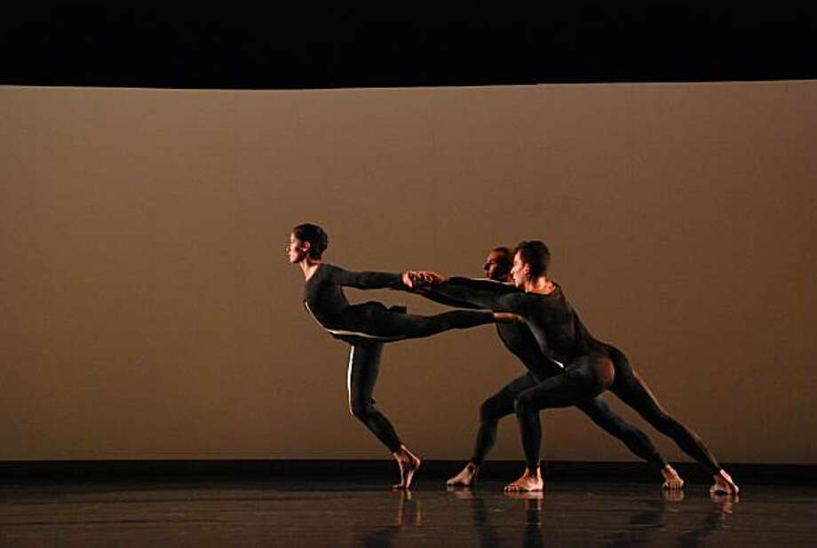 Company members of Merce Cunningham Dance Company perform Nearly Ninety. Merce Cunningham brings his company to Cal Performances March 26 & 27, 2010. Photo: Anna Finke