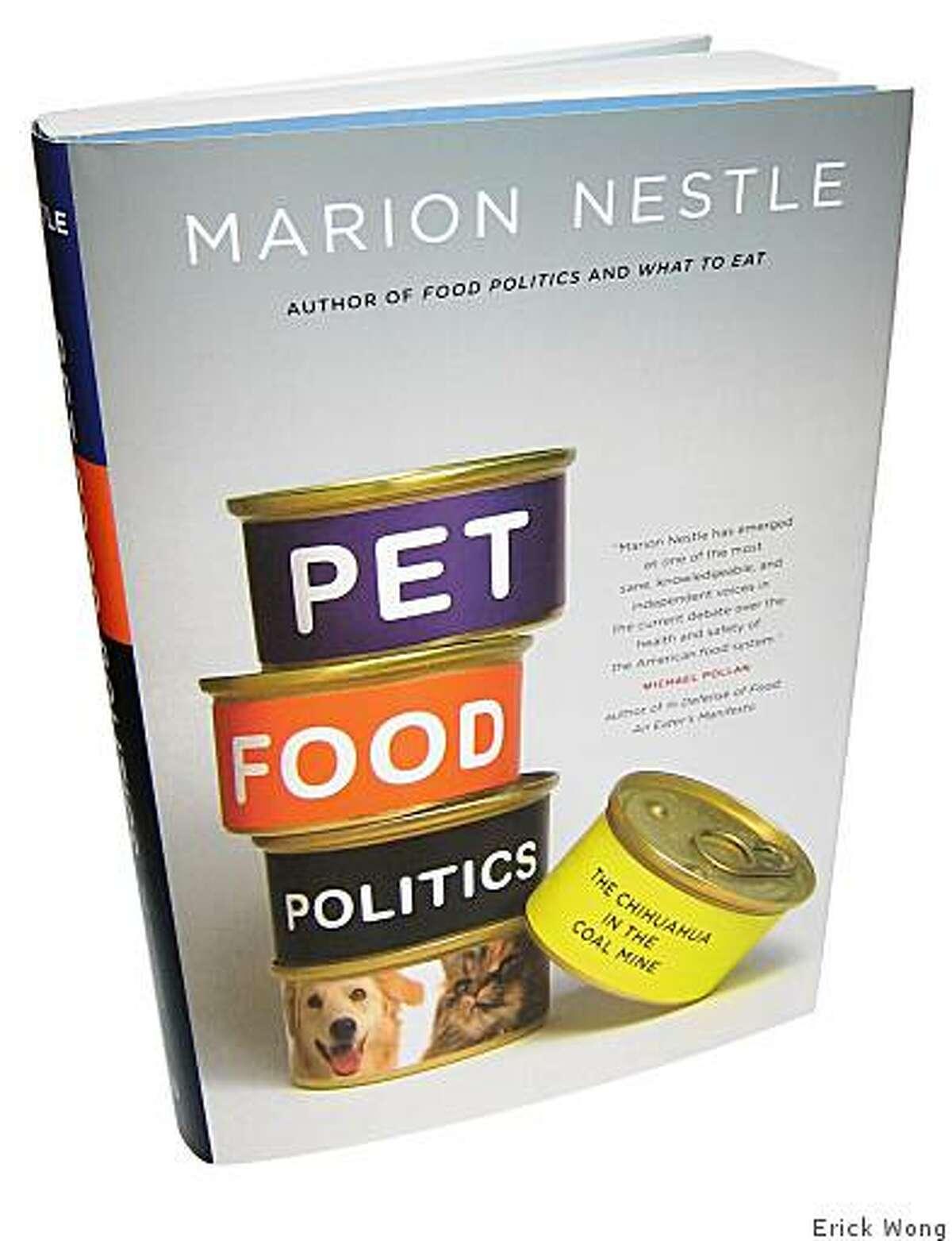 Pet Food Politics by Marion Nestle