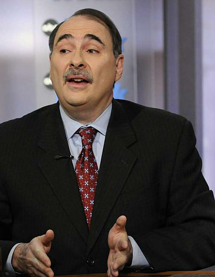 "In this image released by ABC David Axelrod, President Barack Obama's top political adviser, is interviewed on ABC's This Week in Washington Sunday, March 14, 2010. Axelrod said Sunday that lobbyists are gathering on Capitol Hill ""like locusts"" to try to derail health care legislation, that passage will be a struggle, but that he's confident the overhaul will soon become law. (AP Photo/ABC, Fred Watkins) NO ARCHIVES. NO SALES Photo: ABC, Fred Watkins, AP"