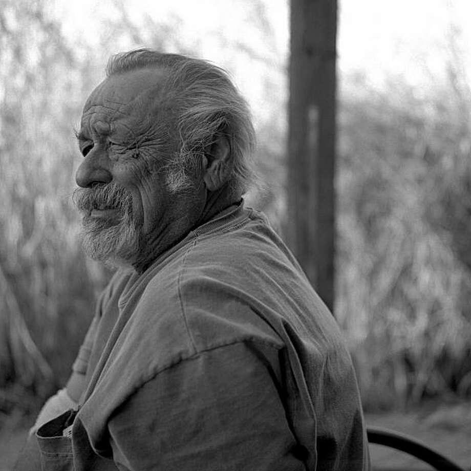 "jim harrison, author of ""the Farmer's Daughter"" Photo: Wyatt McSpadden"