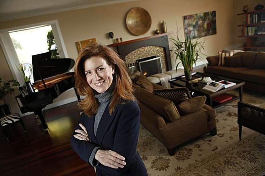 Interior Designer Jean Larette is seen in the living room of Lauren and Rich Reese of Kentfield, Calif. on Thursday, Feb. 25, 2010. Photo: Lea Suzuki, The Chronicle