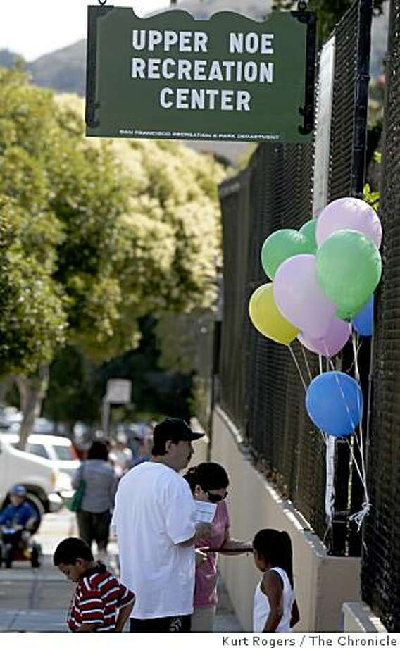 The reopening of the newly remodeled Recreation Center at Day and Sanchez in San Francisco, Calif., on Saturday, Sept, 6 2008. Photo: Kurt Rogers, The Chronicle