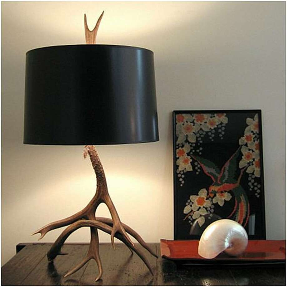 Forest and Shade Lamp by Soleau Design Photo: Velocity Art And Design