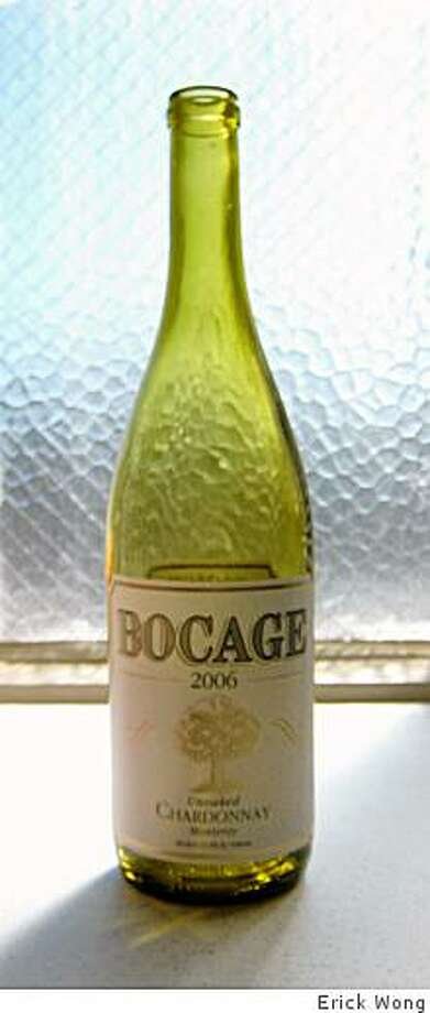 2006 San Saba Vineyards Bocage Monterey Unoaked Chardonnay Photo: Erick Wong