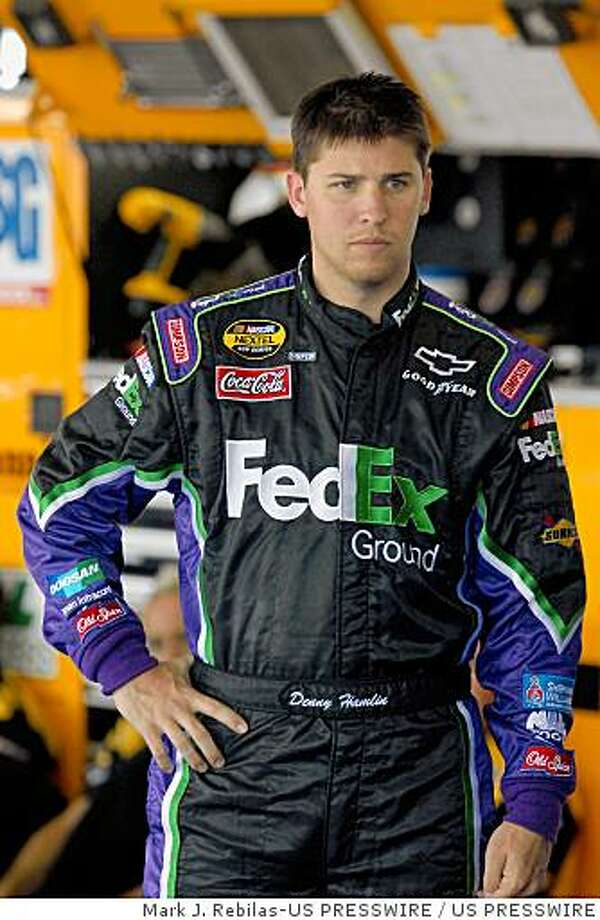 Denny Hamlin (11) Photo: Mark J. Rebilas-US PRESSWIRE, US PRESSWIRE
