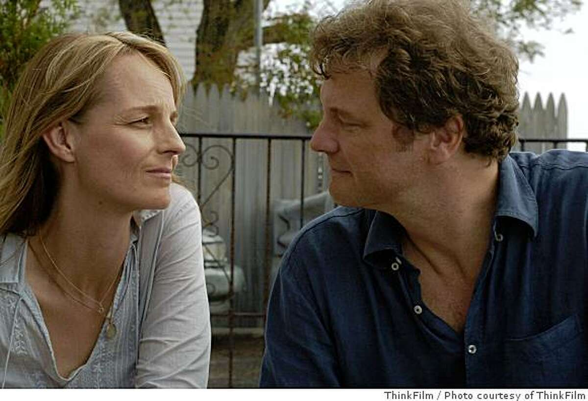 Helen Hunt and Colin Firth in