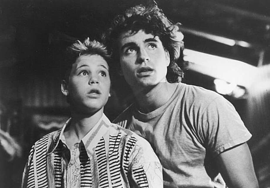 "A 1987 photo provided by Warner Brothers shows Corey Haim, left, and Jason Patric  in a photo from the movie ""The Lost Boys"". Haim, a 1980s teen heartthrob for his roles in ""Lucas"" and ""The Lost Boys"" whose career was blighted by drug abuse, died Wednesday, March 10, 2010 at Providence St. Joseph Medical Center in Burbank, Los Angeles County coroner's Lt. Cheryl MacWillie said. He was 38. Photo: AP"