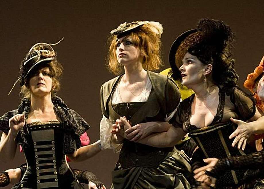 Performs at Steampunk exhibition Photo: Russ Young