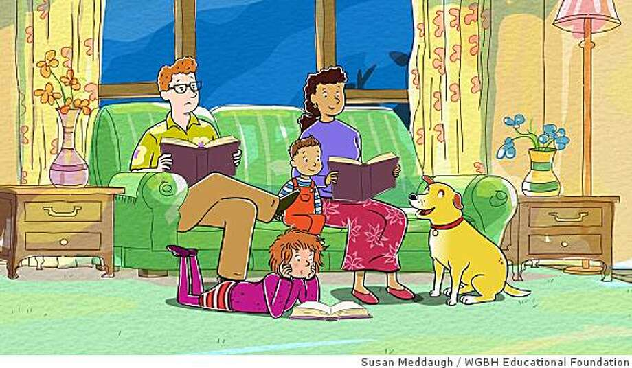 Based on the popular books by Susan Meddaugh, MARTHA SPEAKS debuts its first season on PBS KIDS Monday, September 1, 2008. Photo: Susan Meddaugh, WGBH Educational Foundation