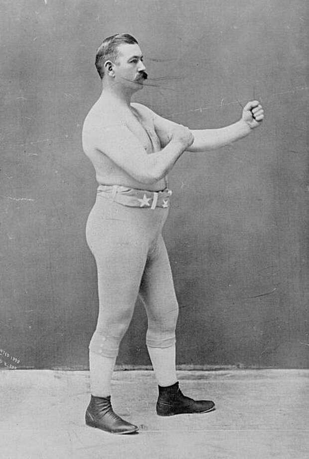 Boxer John L. Sullivan Photo: Wikimedia