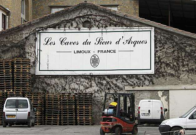 A view of  the Sieur D 'Arques wine merchant in Limoux, southwestern France, Thursday Feb.18, 2010. A French court has convicted Wednesday a dozen wine merchants and wine growers for selling and exporting fake Pinot Noir in a lucrative fraud scheme. A leading U.S. wine merchant in the case says he may appeal. Among others, the fraud victimized California-based giant E. & J. Gallo Winery. Sieur d'Arques, was convicted of fraud and fined euro 180,000 ($244,000). Photo: Bob Edme, AP