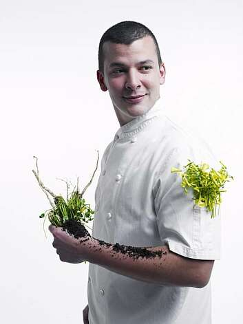John Paul Carmona, chef at Manresa in Los Gatos.  Photo taken in the Chronicle photo studio. Photo: John Lee, Special To The Chronicle