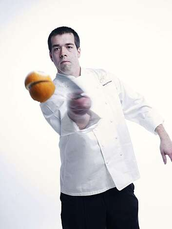 Perry Hoffman, chef at Etoile in Yountville.  Photo taken in the Chronicle photo studio. Photo: John Lee, Special To The Chronicle