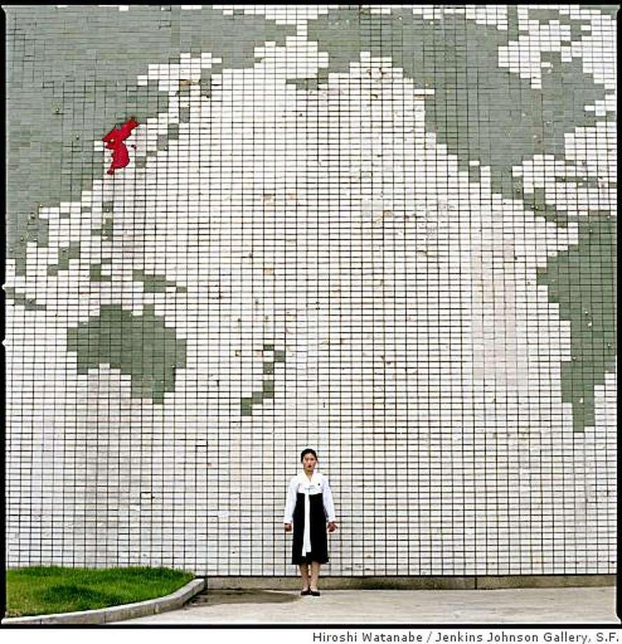"""DPRK 145 (Songdowon International Children's Camp, North Korea)"" (2007)  archival pigment print by Hiroshi Watanabe   32"" x 32""  edition of 8 Photo: Hiroshi Watanabe, Jenkins Johnson Gallery, S.F."