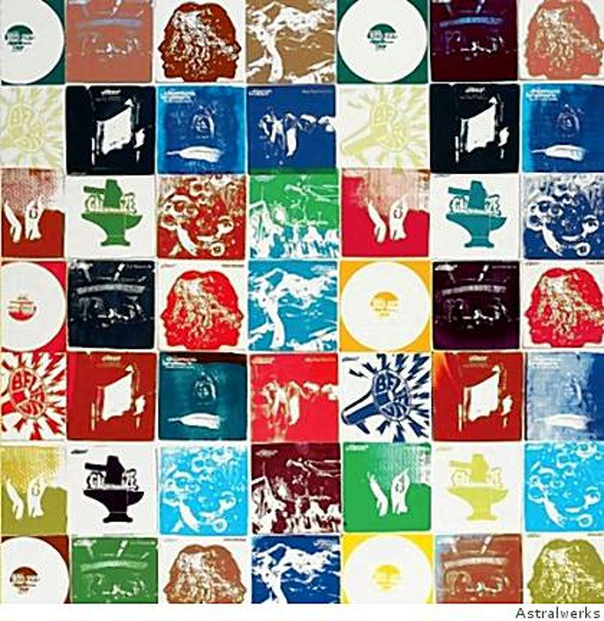 """CD cover: The Chemical Brothers' """"Brotherhood"""""""