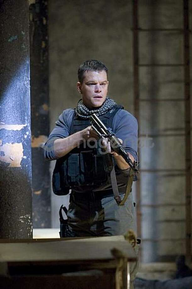 "Matt Damon in director Paul Greengrass' ""Green Zone"" Photo: Universal Pictures"