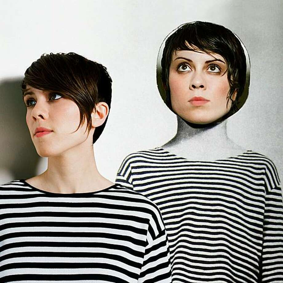 Tegan and Sara -- or is it Sara and Tegan? Photo: Canvas Media