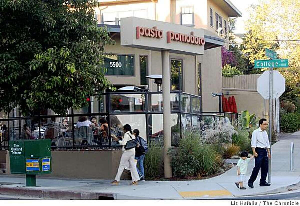 La Boulangerie will open in the recently closed Pasta Pomodoro, a restaurant in the Rockridge area of Oakland.