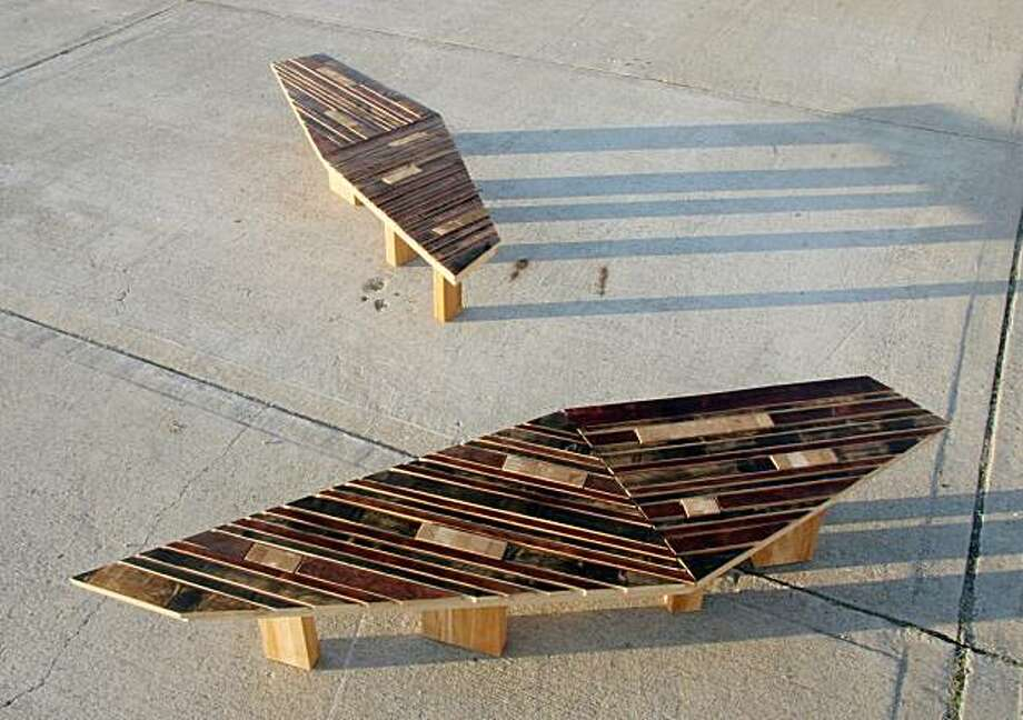 The Vitrus bench by Christopher Loomis Photo: Christopher Loomis
