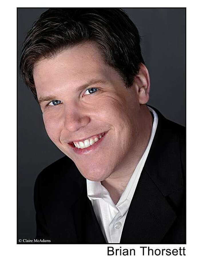 Tenor Brian Thorsett Photo: Claire McAdams