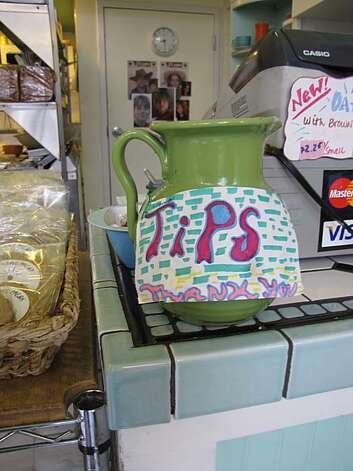 Tip jar from Hazel's Kitchen in Potrero Hill. Photo: Matt Petty