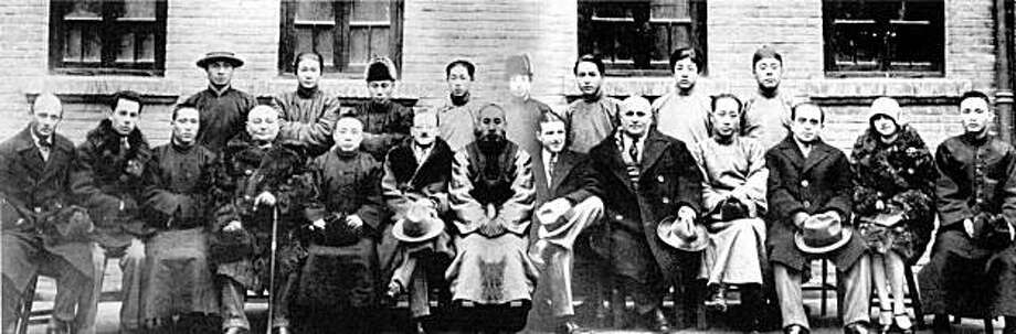 """Jews of Modern China"" is an exhibition of historical photos at the Presidio Officers Club. Photo: Presidio Officers Club"