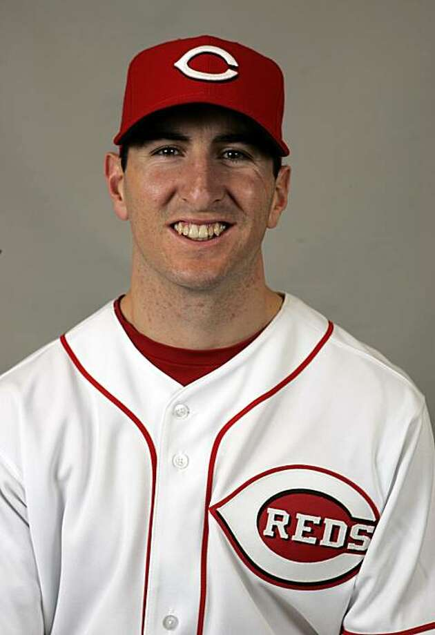 This is a 2009 photo of Adam Rosales of the Cincinnati Reds baseball team. This image reflects the Cincinnati Reds active roster as of Wednesday, Feb. 18, 2009 when this image was taken. (AP Photo/Tony Dejak) Photo: Tony Dejak, AP