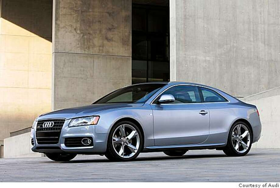 2008 Audi A5 S-Line Coupe Photo: Courtesy Of Audi