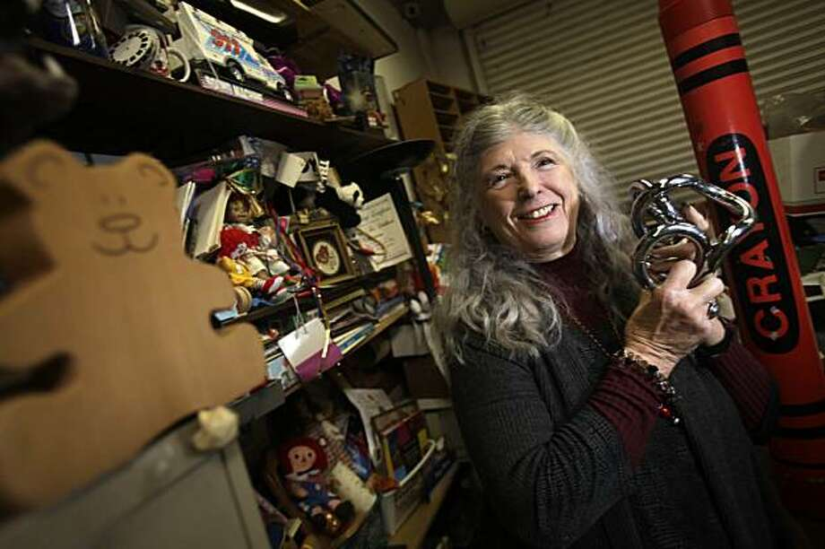 """Stevanne Auerbach, aka """"Dr. Toy, is the author of  """"Smart Play, Smart Toys"""" and is seen in her warehouse on Tuesday February 16, 2010 in Berkeley, Calif. Photo: Lea Suzuki, The Chronicle"""