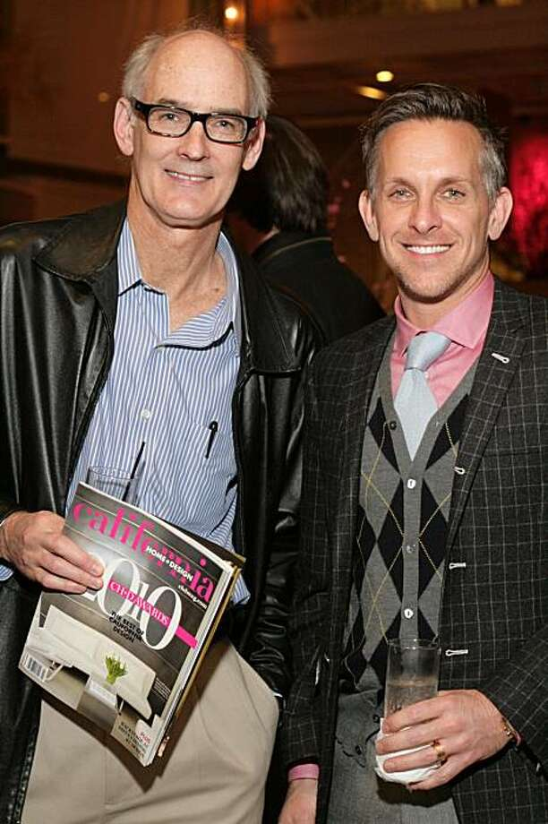 From left: Lewis Butler, Jay Jeffers at the fifth annual California Home + Design Awards held in February 2010 at the San Francisco Design Center. Photo: Lisbeth Ortega