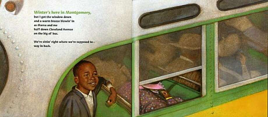 "illustration from kids book ""Back of the Bus"" by Aaron Reynolds and Floyd Cooper Photo: Floyd Cooper, Philomel Books"