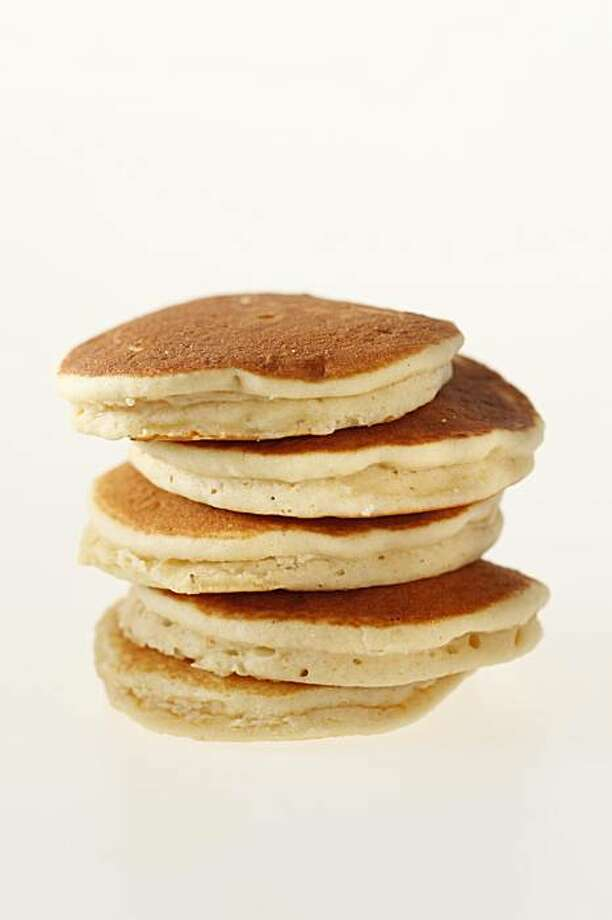 Stack of pancakes in San Francisco, Calif., on February 17, 2010. Food styled by Pailin Chongchitnant. Photo: Craig Lee, Special To The Chronicle