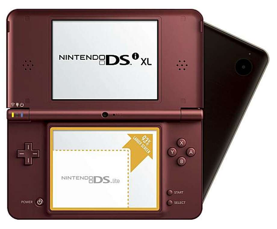 The Nintendo DSi XL comes out late March, 2010, Photo: Nintendo.com