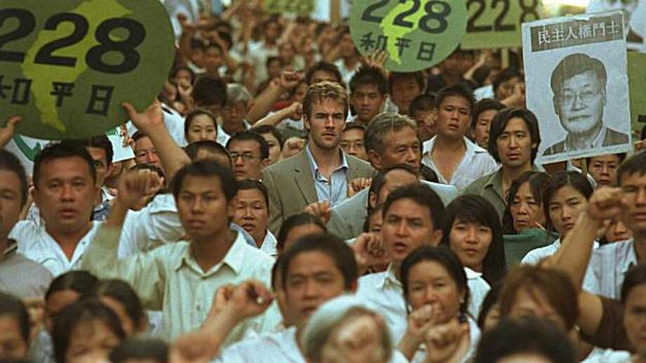 James Van Der Beek and Will Tiao in Formosa Betrayed. Photo: Screen Media Films