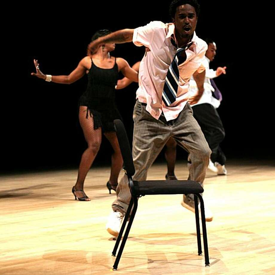 See the works of choreographers including Los Angeles' Dahrio Hutton this weekend at the Black Choreographers Festival. Photo: Black Choreographers Festival