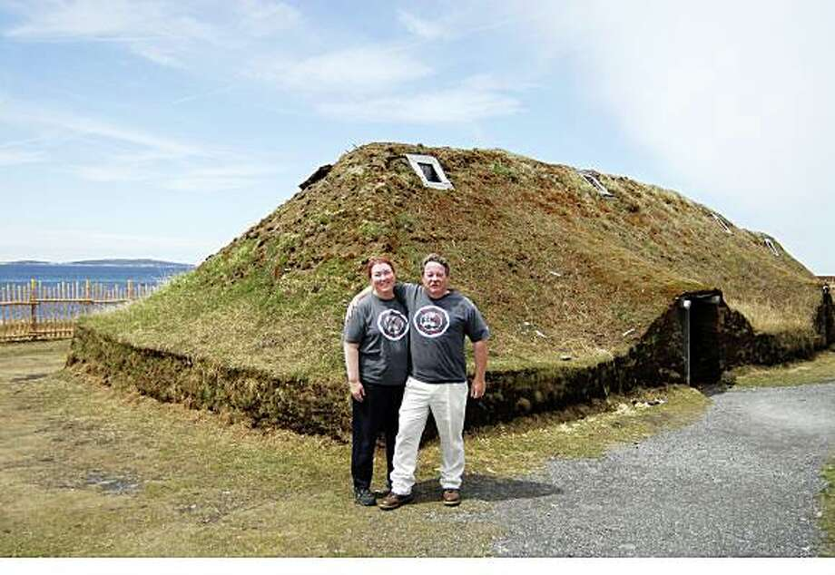 JUSTBACK -- Kevin and Elisa Cleek, NovatoEmail: kjcleek@earthlink.netDaytime phone number: 415-951-8497Just back from: L'Anse aux Meadows, Newfoundland, CanadaI went because: To see the remains of the first Viking settlement in North America (1000AD) located at the tip of the Great Northern Peninsula in NewfoundlandDon't miss: Docent tour included with admission. Talk to the Vikings in the village reconstruction and the docents ...especially Clayton, who worked on the dig.Don't bother: Don't expect lots of night life in a town of 30 people.  Instead, take a slow drive at dawn/dusk and watch for moose. Walk beaches. Look for icebergs.Coolest souvenir: Homemade jams made with local berries unique to NF and handmade traditional Viking-knit cap made by Dot at Viking Village B&B. Thanks Dot and Thelma!!Worth a splurge: A cabin on the ferry from Sidney, NS to Port Aux Basque, NF. Viking feast at Leifsburdir in nearby St. Anthony. McLobster sandwich at McDonald's.I wish I'd packed: A bigger suitcase to bring back more jams, saltfish, saltwater taffy, Naalbinding (Viking) knits, and labradorite jewelry.Other comments: Hate seafood? Don't go. Stay at Viking Village B&B nearby. or at Grenfell Heritage Hotel & Suites in St. Anthony.Details of attached photo (if sent): Kevin and Elisa Cleek at L'Anse aux Meadows National Historic Site of Canada.F_ECleekMy PicturesEmail jpegsCanada 2008 - Halifax NS and Newfoundland - Kevin 410_1_4_1.jpg