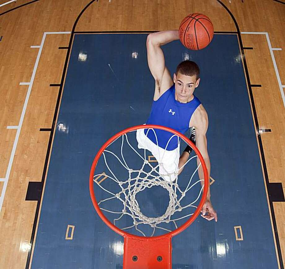 Dwight Powell of IMG's basketball academy in Bradenton, Fla., plans to attend Stanford, and play for the Cardinal, beginning in the fall of 2010. Photo: Courtesy IMG Academies