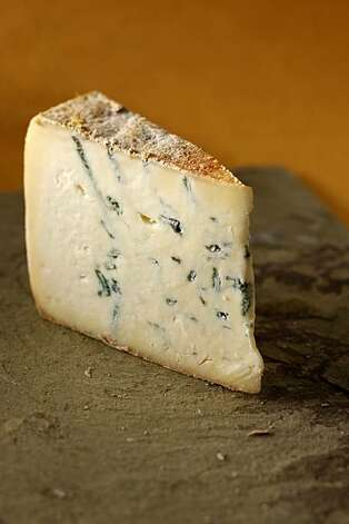 Two-Faced Blue cheese in San Francisco, Calif., on February 17, 2010. Food styled by Julia Mitchell. Photo: Craig Lee, Special To The Chronicle