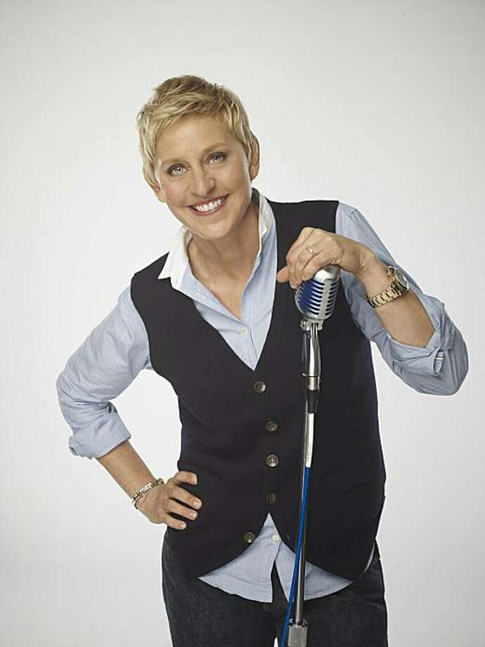 "In this undated publicity image released by Fox, new ""American Idol,"" judge Ellen DeGeneres is shown. Photo: Michael Becker, AP"