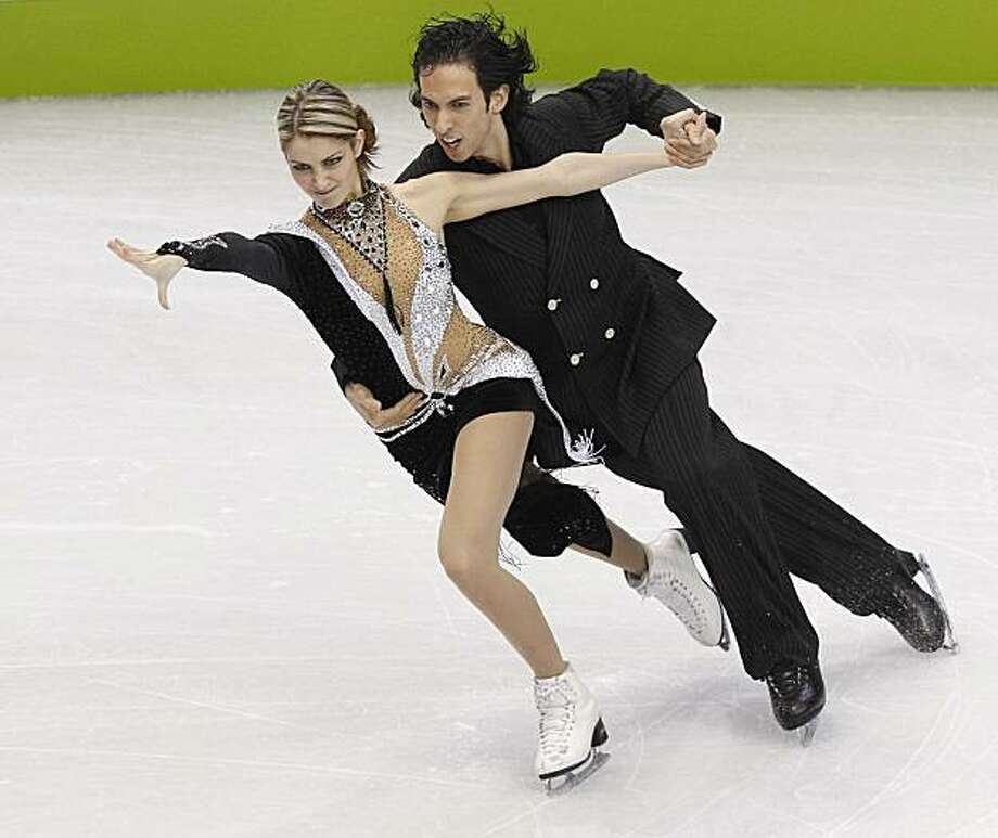 American skaters Tanith Belbin and Benjamin Agosto perform in the Compulsory Ice Dance competition during the 2010 Winter Olympics at the Pacific Coliseum in Vancouver, British Columbia, Canada, Friday, February 19, 2010. (Nuccio DiNuzzo/Chicago Tribune/MCT) Photo: Nuccio DiNuzzo, MCT
