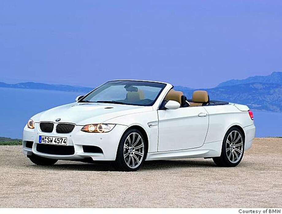 2008 BMW M3 Convertible Photo: Courtesy Of BMW