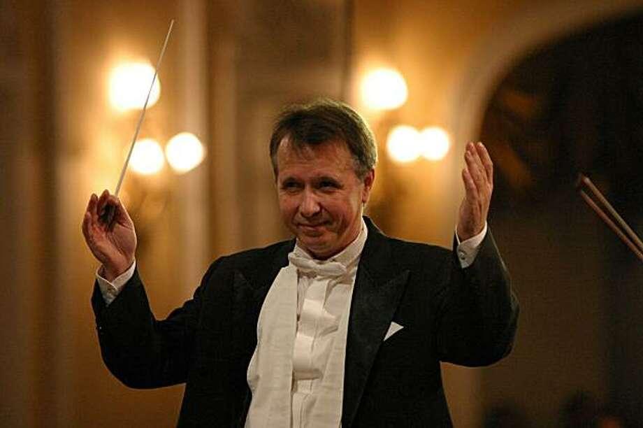 Conductor Mikhail Pletnev Photo: Roman Goncharov
